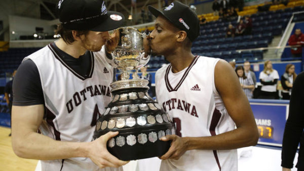 Ottawa Gee-gees Awarded No. 1 Seed At 2014 CIS Final 8 For The First Time In School History