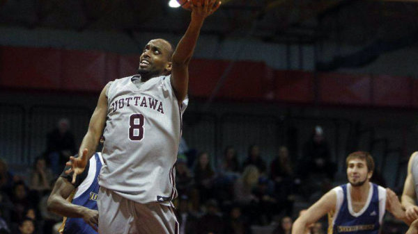 Ottawa Geegees Johnny Berhanemeskel Top 10 Cis Mens Basketball Performers Week 5