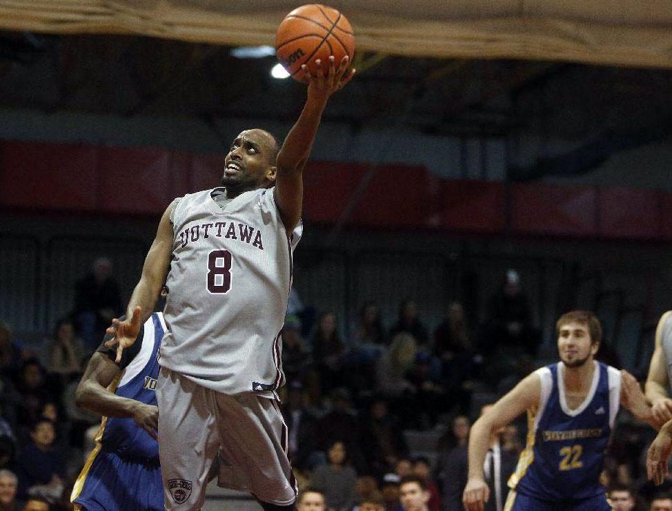 Ottawa Geegees Johnny Berhanemeskel Top 10 Cis Mens Basketball Performers Week 5