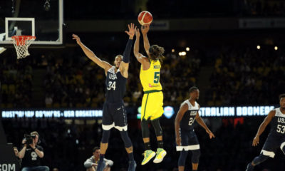 Patty Mills 30 Points Australia Hand Usa First Loss Since 2006 Ending 78 Game Winning Streak