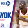 Philadelphia 76ers Make Marial Shayok Ottawa's First Ever Nba Draft Pick