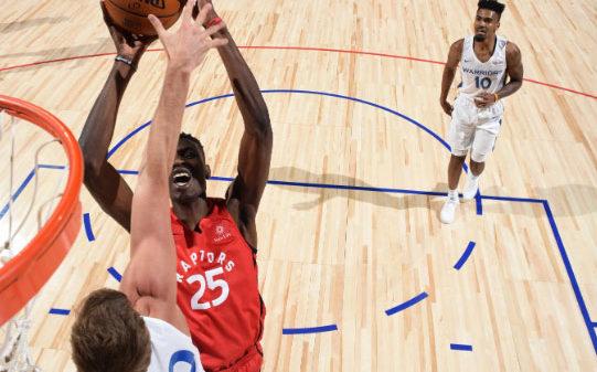 Raptors Chris Boucher 21 Points 13 Rebounds Nba Summer League Vs Warriors