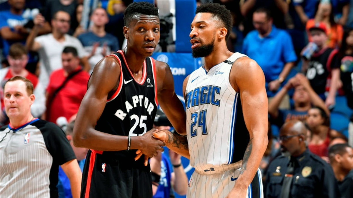 Raptors Chris Boucher And Magic Khem Birch Orlando Magic Part Ways With Khem Birch Expected To Sign With Toronto Raptors