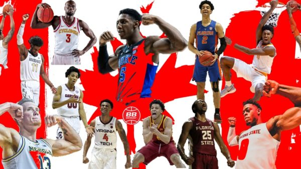 Record Number Of Canadians Declare For 2019 NBA Draft