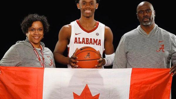 Rising Canadian Basketball Star Josh Primo Commits To Alabama Crimson Tide
