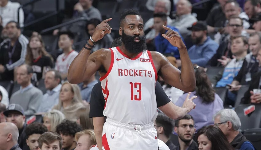 James Harden 50-point triple down