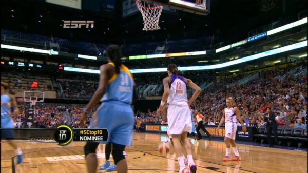 Rookie Brittney Griner Becomes First WNBA Player To Dunk Twice In WNBA Game