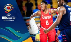 Canadian Rowan Barrett Jr. 38 Points Versus USA