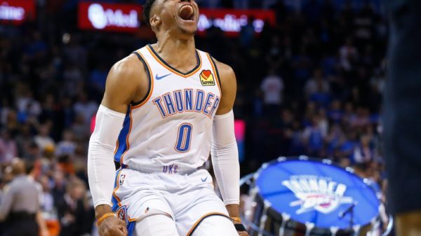 Russell Westbrook Hustles First 20-20-20 Vision In 50 Years For Nipsey