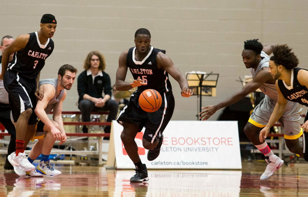 Ryan Ejim Carleton Ravens Dominate Laurentian In Season Opener