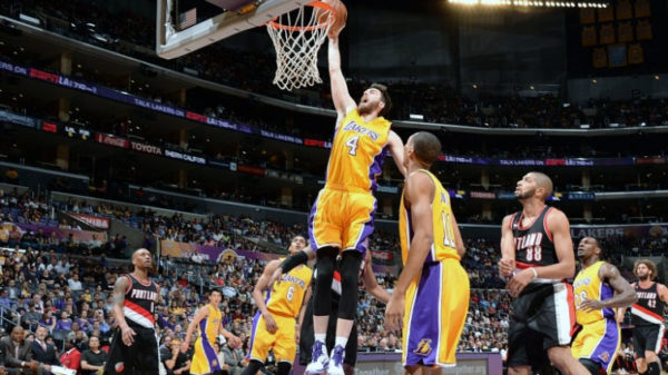 Ryan Kelly Believes He Can Fly As Lakers Win On A Dunk