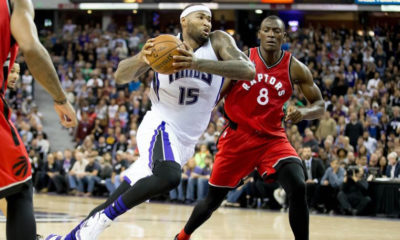 Sacramento Kings Demarcus Cousins Full Repertoire On Display In Win Over Raptors
