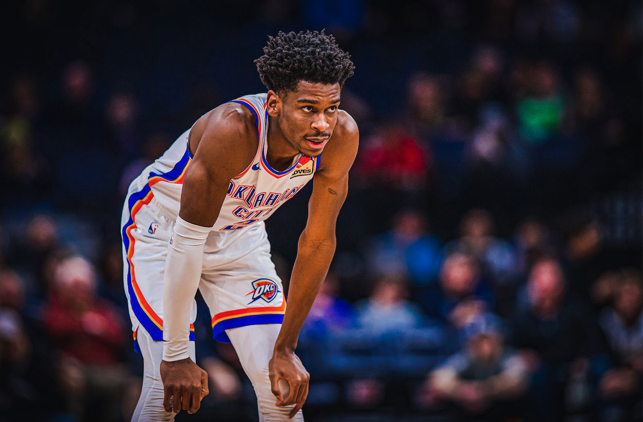 shai gilgeous alexander 20 pts 20 rebs 10 asts first canadian nba triple double since 2006