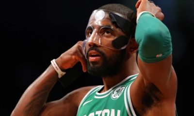 Somebody Stop The Mask Of Kyrie Irving