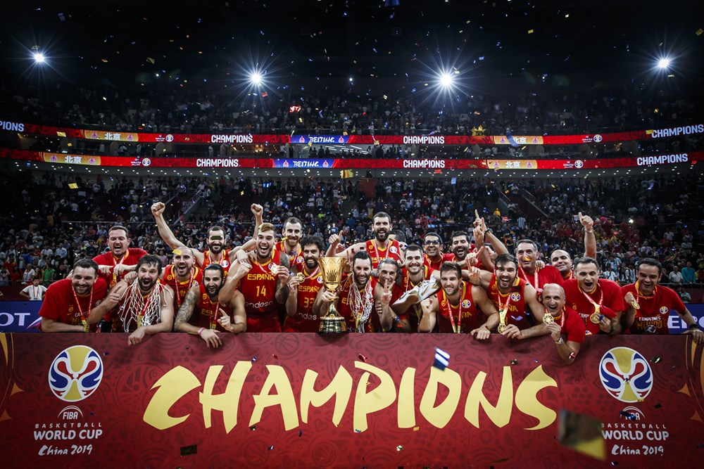 Spain 2019 Fiba World Cup Champions