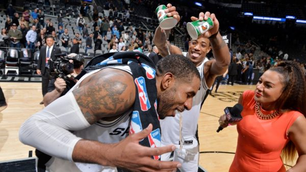 Spurs Storm Thunder In Epic Duel