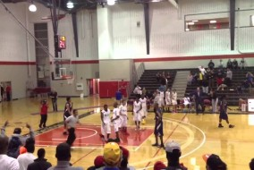 St. Patrick's Irish Roydell Clark Dunks All-Over Defender 2013 Ottawa High School All-Star Game (VIDEO)