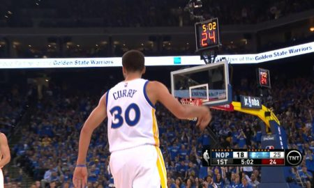 Steph Curry Explodes For Record 24 First Quarter Points Vs Pelicans