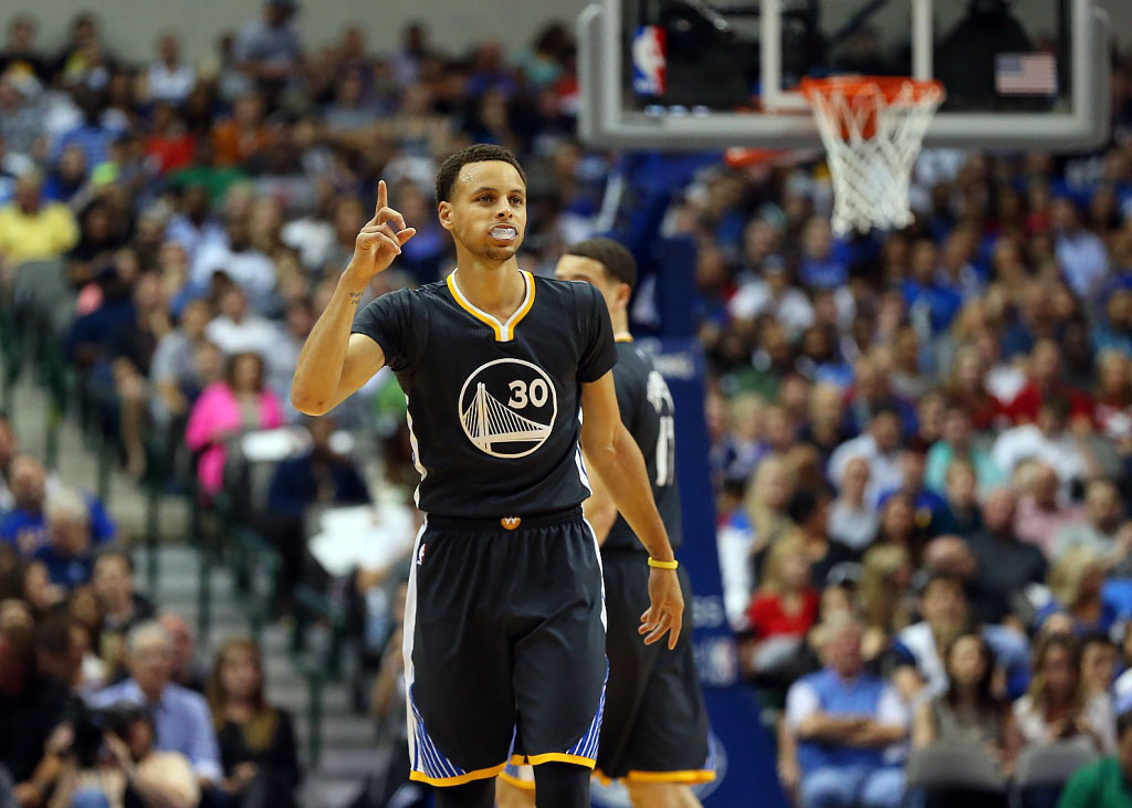 Steph Curry With The Mvp