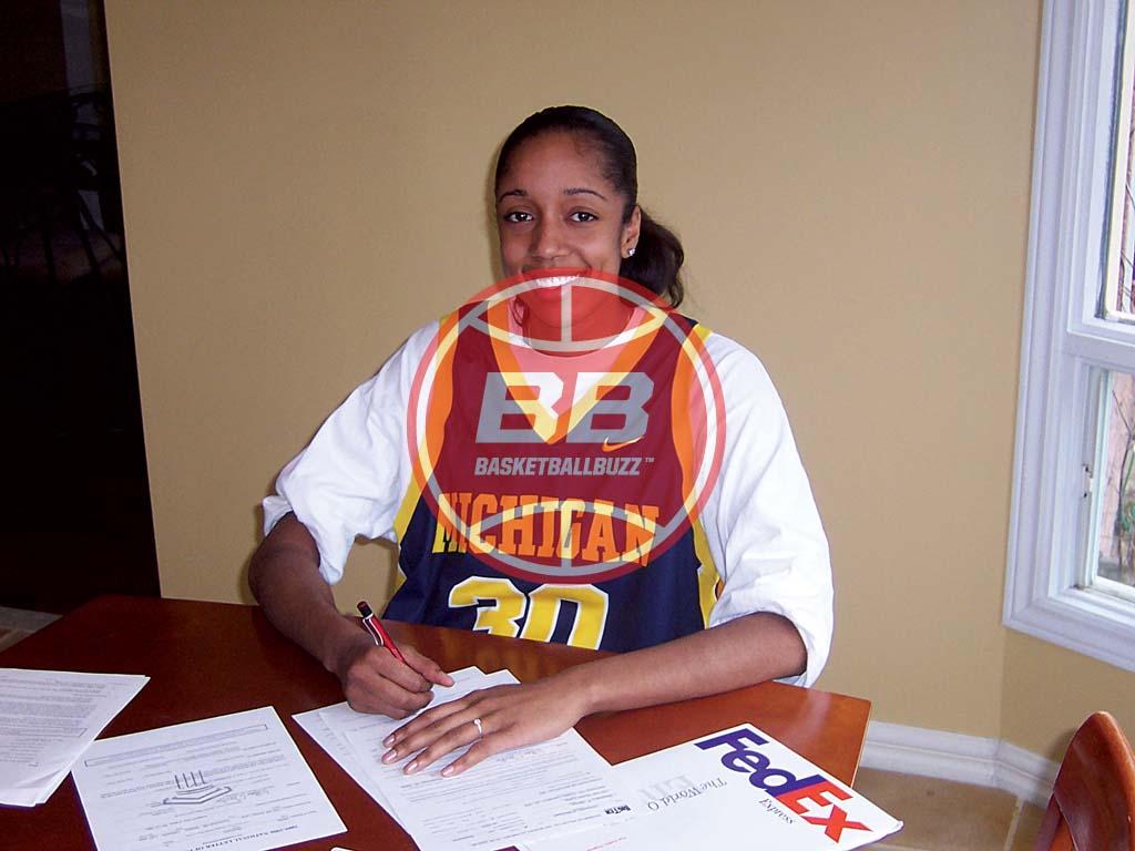 Stephany Skrba Michigan Bound I Got Next Basketballbuzz Magazine 2005