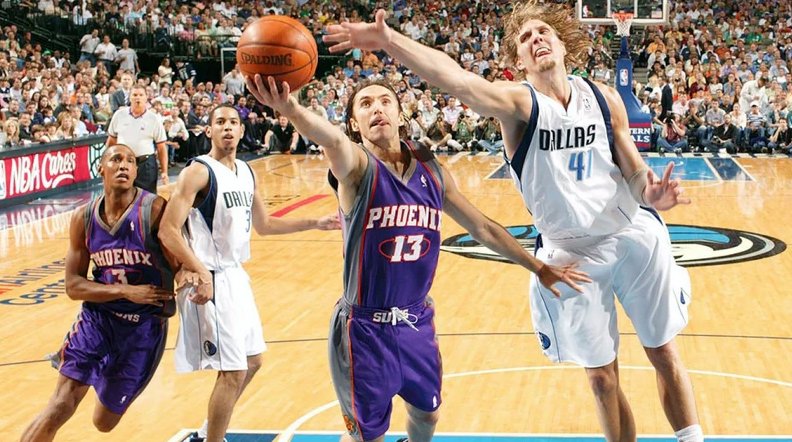 Steve Nash 2005 Western Conference Semi Finals Against Dallas Mavericks