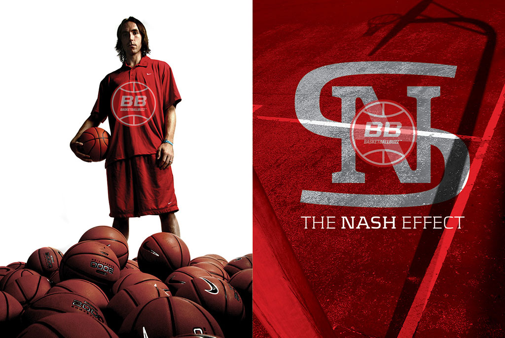 Steve Nash The Nash Effect Basketballbuzz Magazine 2006