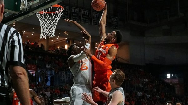 Syracuse Oshae Brissett Delivers Massive Rack Attack On Miami Hurricanes