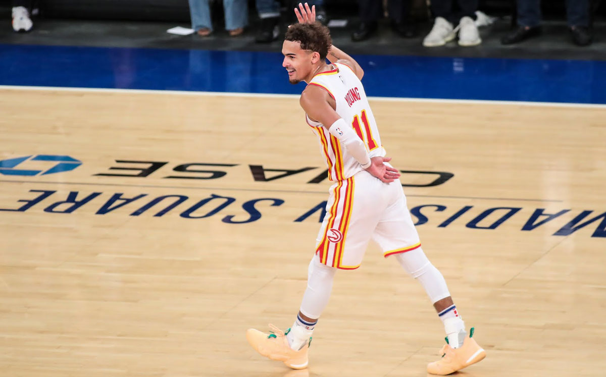 Take a bow Trae Young is an New York Madison Square Garden (MSG) enemy of old