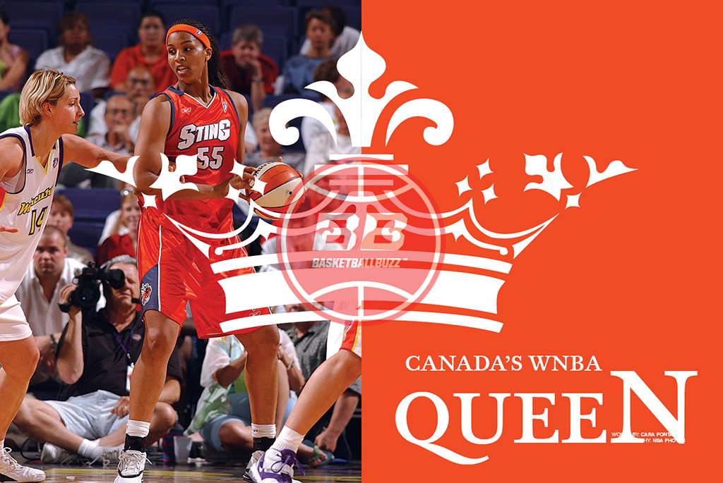 Tammy Sutton Brown Canadas Wnba Queen Basketballbuzz Magazine 2006