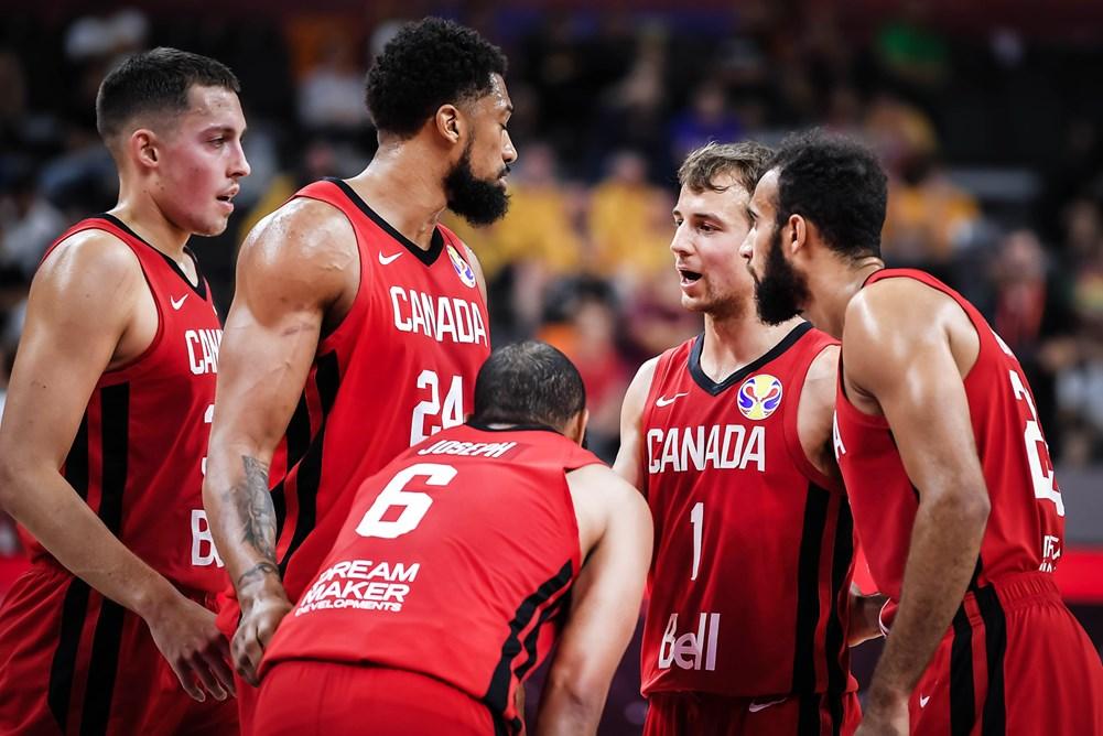 Team Canada Against Lithuania 2019 Fiba World Cup