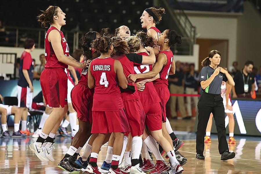 Team effort pushes Canada into 2014 FIBA Women's World Championship Quarter-Finals