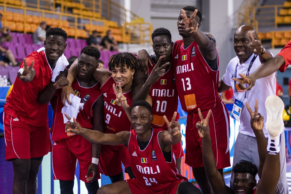 Team Mali African Champions Drop Reigning Champs Canada At 2019 Fiba U19 World Cup