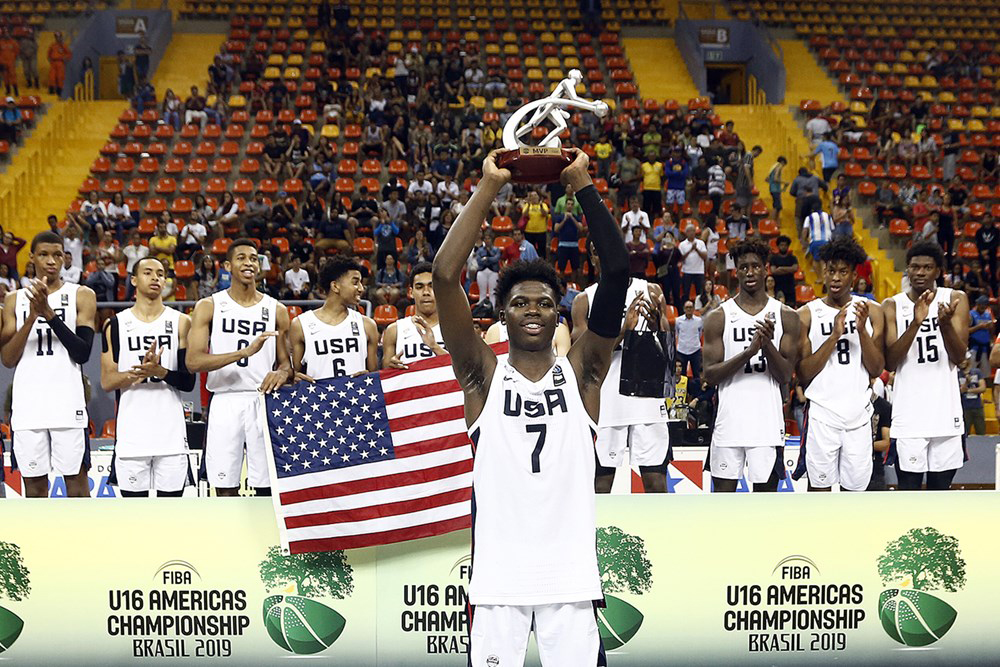 Team Usa Golden Once Again 2019 Fiba U16 Americas