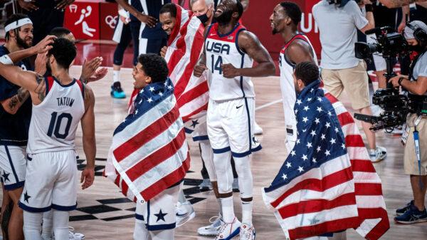 Team USA strikes gold in Tokyo 2020