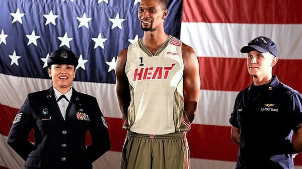 The Heat Is On…Miami Honor History, Legacy & Troops With New Big-Three Jerseys