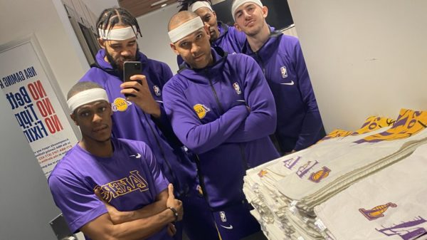 the lakers headband crew squad goals