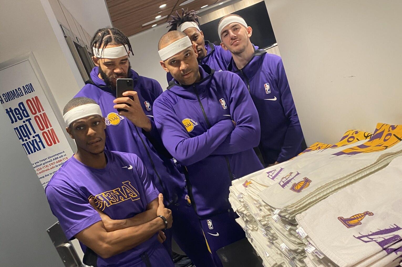 the lakers headband crew squad goals