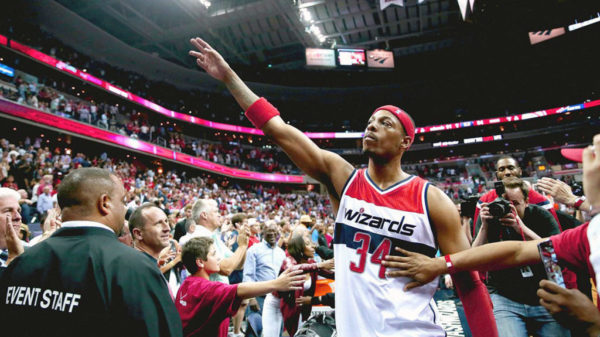 The Truth Hurts As Hawks Fly Past Wizards Legend Paul Pierce May Be Waving Goodbye