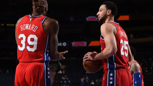 Philadelphia 76ers Dwight Howard and Ben Simmons - There is something wrong with the NBA right now