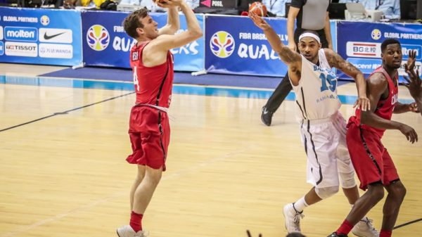 Brady Heslip Three Pointer Canada Routes Bahamas FIBA World Cup Qualifiers