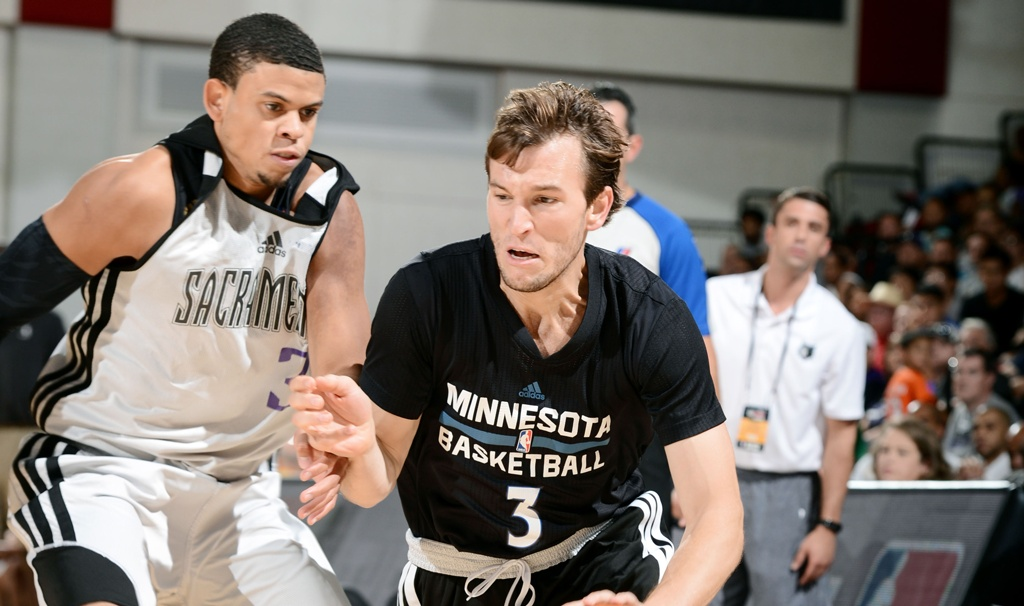 Canadian Basketball Brady Heslip Minnesota Timberwolves Training Camp Deal