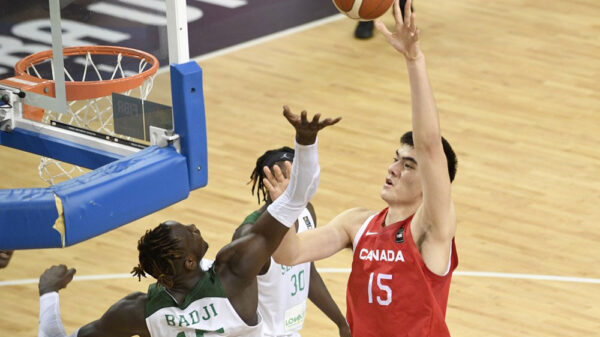 Too tall to strong zach edey helps canadians blow out senegal at the 2021 fiba u19 world cup