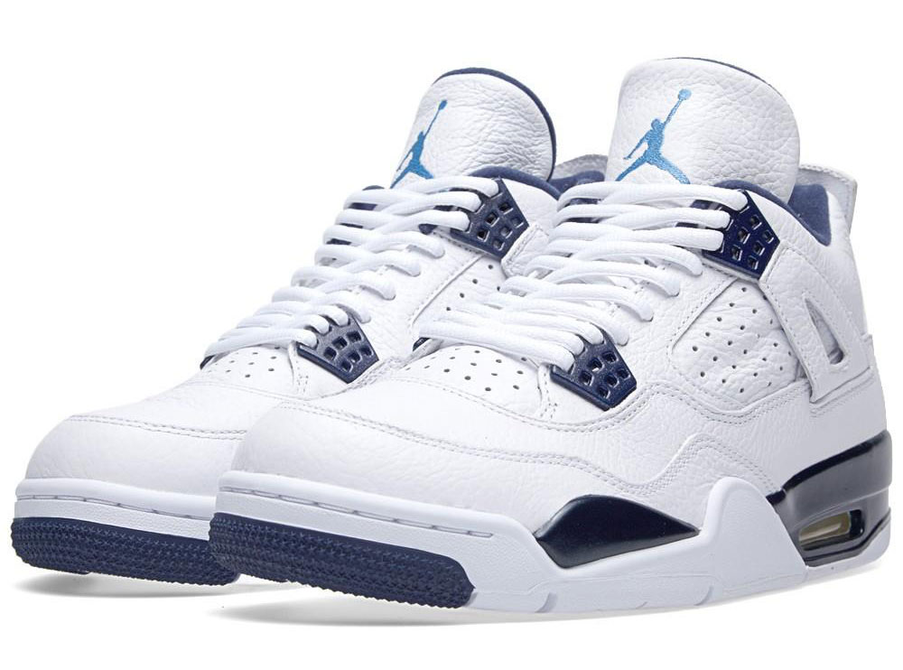 Top 5 Air Jordan Blue Air Jordan Iv Columbia