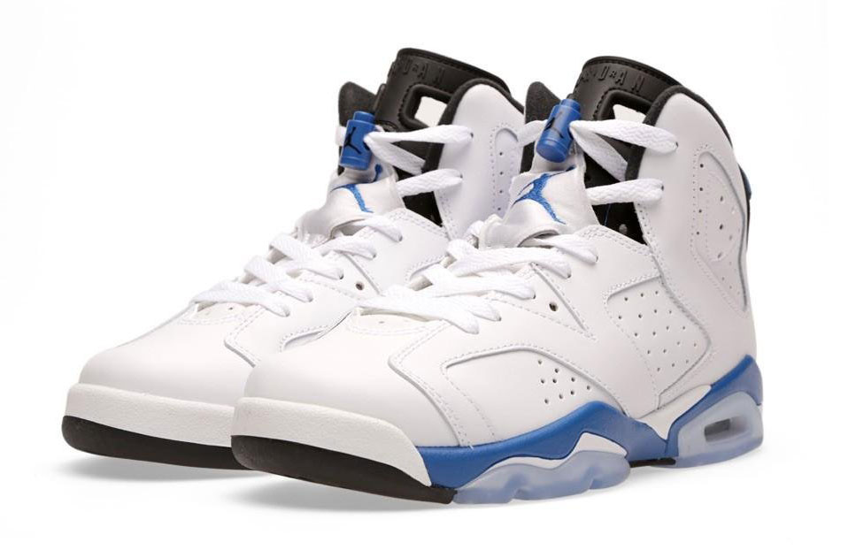 Top 5 Air Jordan Blue Air Jordan Vi Sport Blue