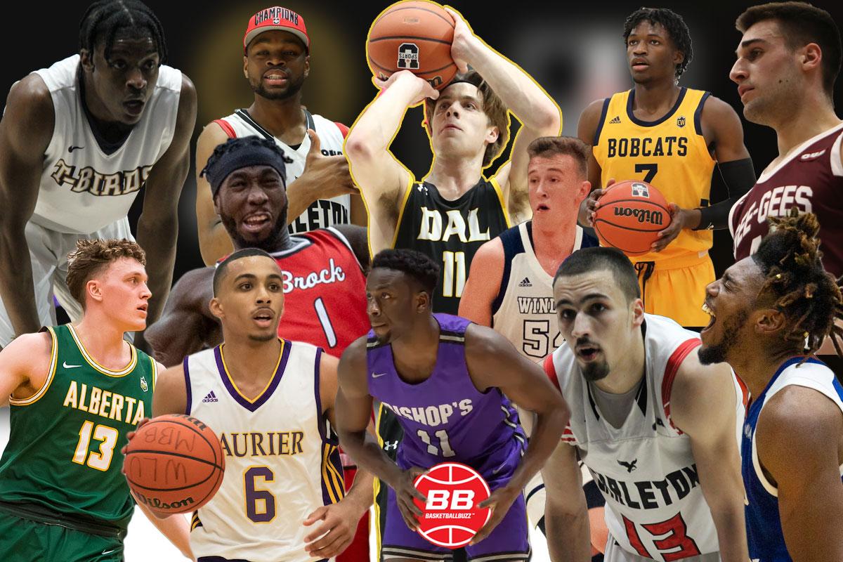 Top Canadian Basketball Players Selected At 2021 CEBL U SPORTS Draft