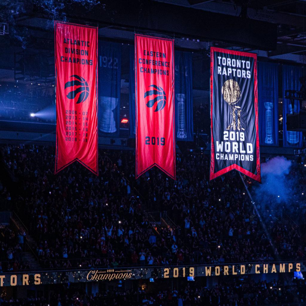 Toronto Raptors 2019 NBA Championship Banner