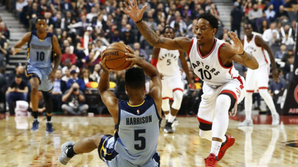 Toronto Raptors Claw Memphis Grizzlies Return Canada