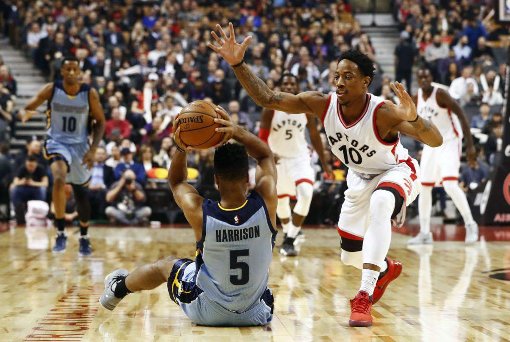 Toronto Raptors Claw Memphis Grizzlies Return Canada