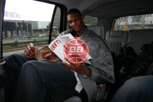 Toronto Raptors Rookie Chris Bosh Timeout Basketballbuzz Magazine