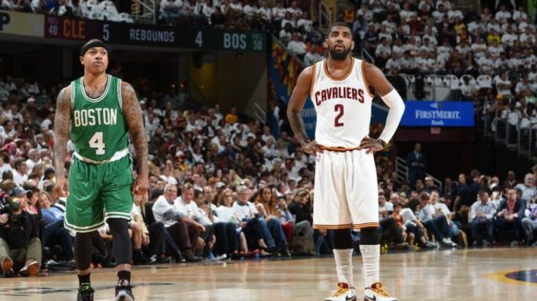 Trading Points…Cavs/Celtics Swap Guards Irving And Thomas